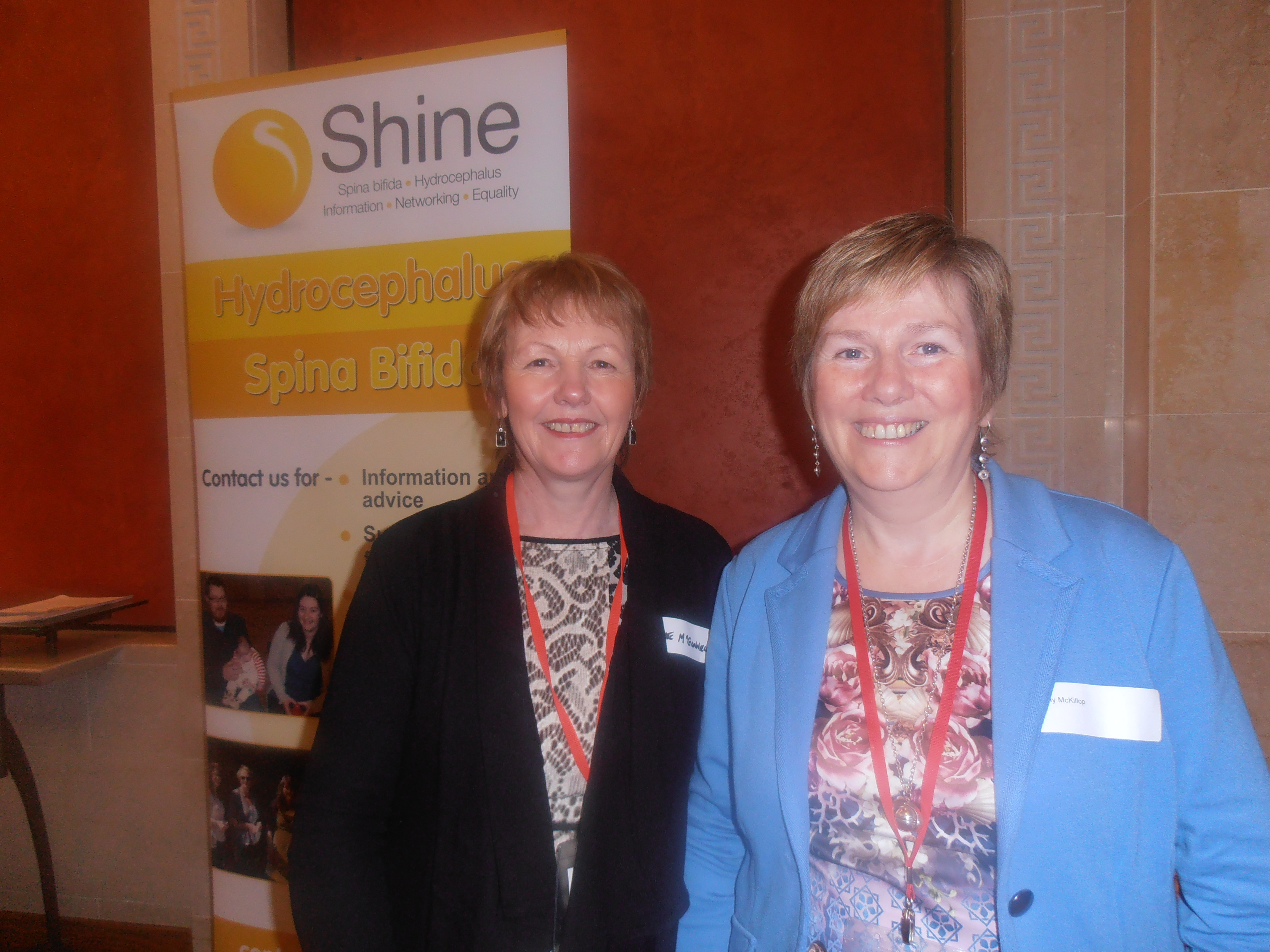 Marie and Cathy from SHINE