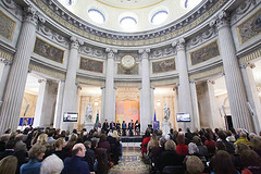 the Rotunda at Dublin City Hall